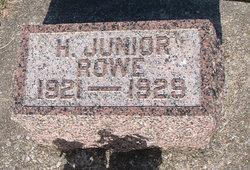 Harry S Rowe, Jr