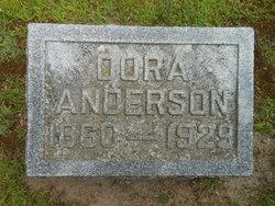 Dora <I>Rice</I> Anderson