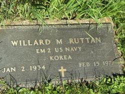 Ens Williard M. Ruttan