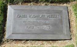 Isabel <I>Rosanoff</I> Plesset