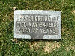Mary <I>Short</I> Devou