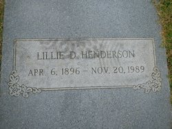 Lillie D. Henderson