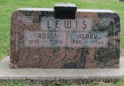 """Henry """"Heinie"""" Lewis"""