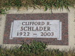 Clifford Russell Schlader