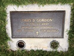 LTC Giles D. Gordon