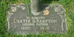 Dexter L Kempton