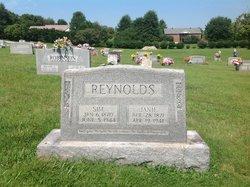 """Simeon A. """"Sim"""" Reynolds"""