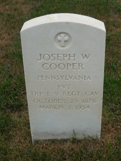 Joseph W Cooper