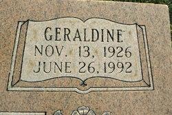 Geraldine <I>Priddy</I> Carr
