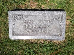 Peter Gunter Henderson