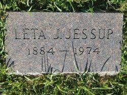 Leta J. <I>Selby</I> Jessup
