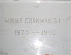 Minnie <I>Cornman</I> Gill
