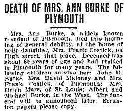 Ann <I>Bryce</I> Burke
