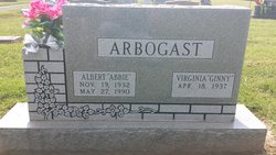"Virginia Irene ""Ginny"" <I>Kunz</I> Arbogast"
