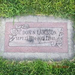 Don Nate Lambson