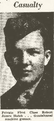 PFC Robert James Hatch