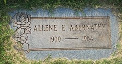 Allene Estella <I>Goodwin</I> Abernathy