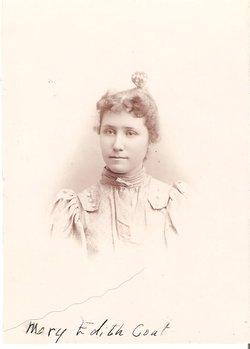 Mary Edith <I>Hunter</I> Coats