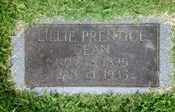 Lillie Bell <I>Prentice</I> Dean