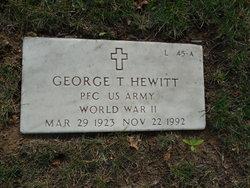 George T Hewitt