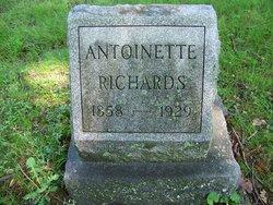"""Antoinette """"Nettie"""" <I>Hicks</I> Richards"""