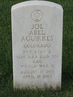 Joe Abel Aguirres