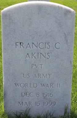 Francis C Akins