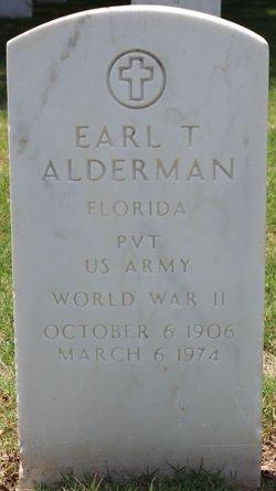 Earl Theodore Alderman
