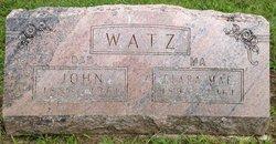 Clara Mae <I>Stover</I> Watz