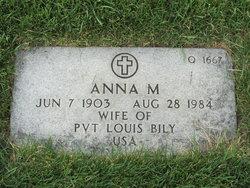 Anna M Bily