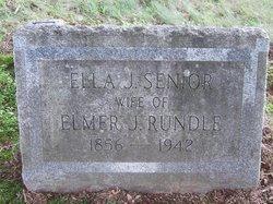 Ella J. <I>Senior</I> Rundle