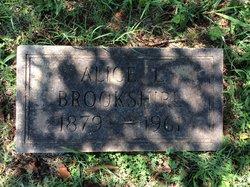Alice J <I>Lineberry</I> Brookshire