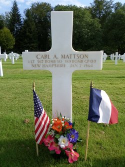 1Lt Carl A. Mattson