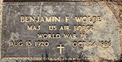 Maj Benjamin Frederick Wolfe, Sr