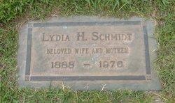 Lydia <I>Harter</I> Schmidt