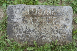 Victorine A. <I>Groves</I> Baxter