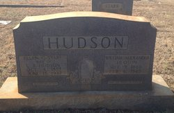 William Alexander Hudson