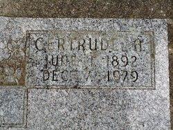 """Gertrude Abbie """"Abbie"""" <I>Gordy</I> Clubb"""