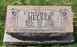Cynthia M <I>Hess</I> Meeker