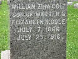 William Zina Cole