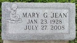 "Mary G ""Jean"" <I>Burns</I> Dunlap"