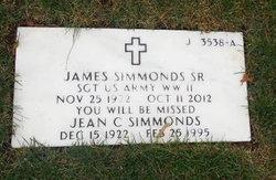 Jean C Simmonds