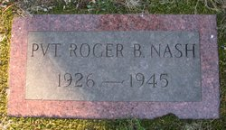 Pvt Roger B. Nash