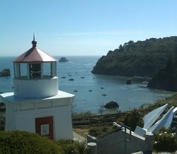 Trinidad Lighthouse Lost and Buried at Sea Memoria