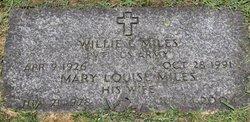 Willie L. Miles