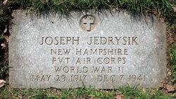 Pvt Joseph Jedrysik