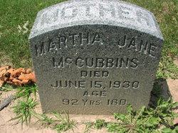 Martha Jane <I>Huddleston</I> McCubbins