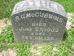 Robert Grandison McCubbins