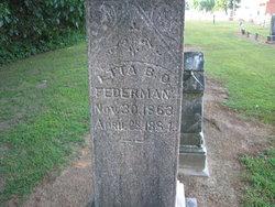 Etta B. <I>Ormsby</I> Federmann