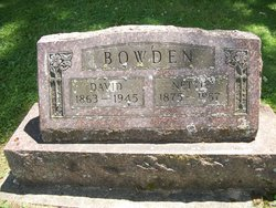 Nettie <I>Young</I> Bowden